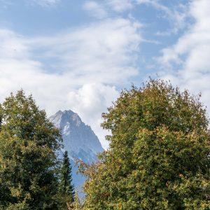 Alpspitze vom Hotel