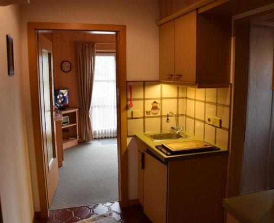 Hotel Ferienwohnungen Brunnthaler Küche