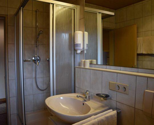 Hotel Ferienwohnungen Brunnthaler Badezimmer