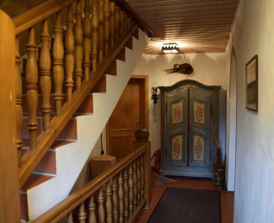 Hotel Ferienwohnungen Brunnthaler Treppenhaus