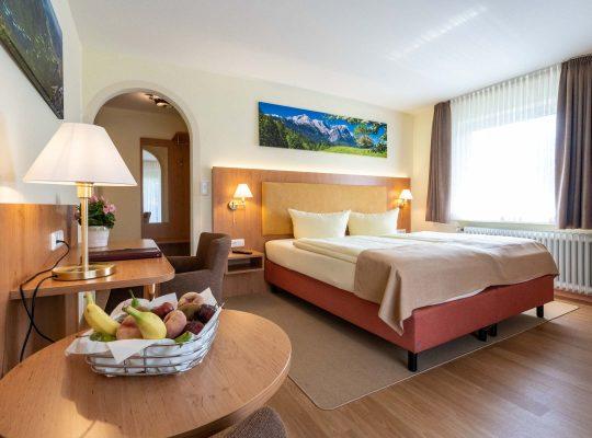 Komfort Doppelzimmer mit Obstkorb