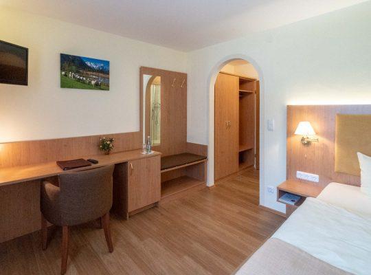 Komfort Einzelzimmer Garmisch-Partenkirchen
