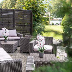 Loungeecke Garten